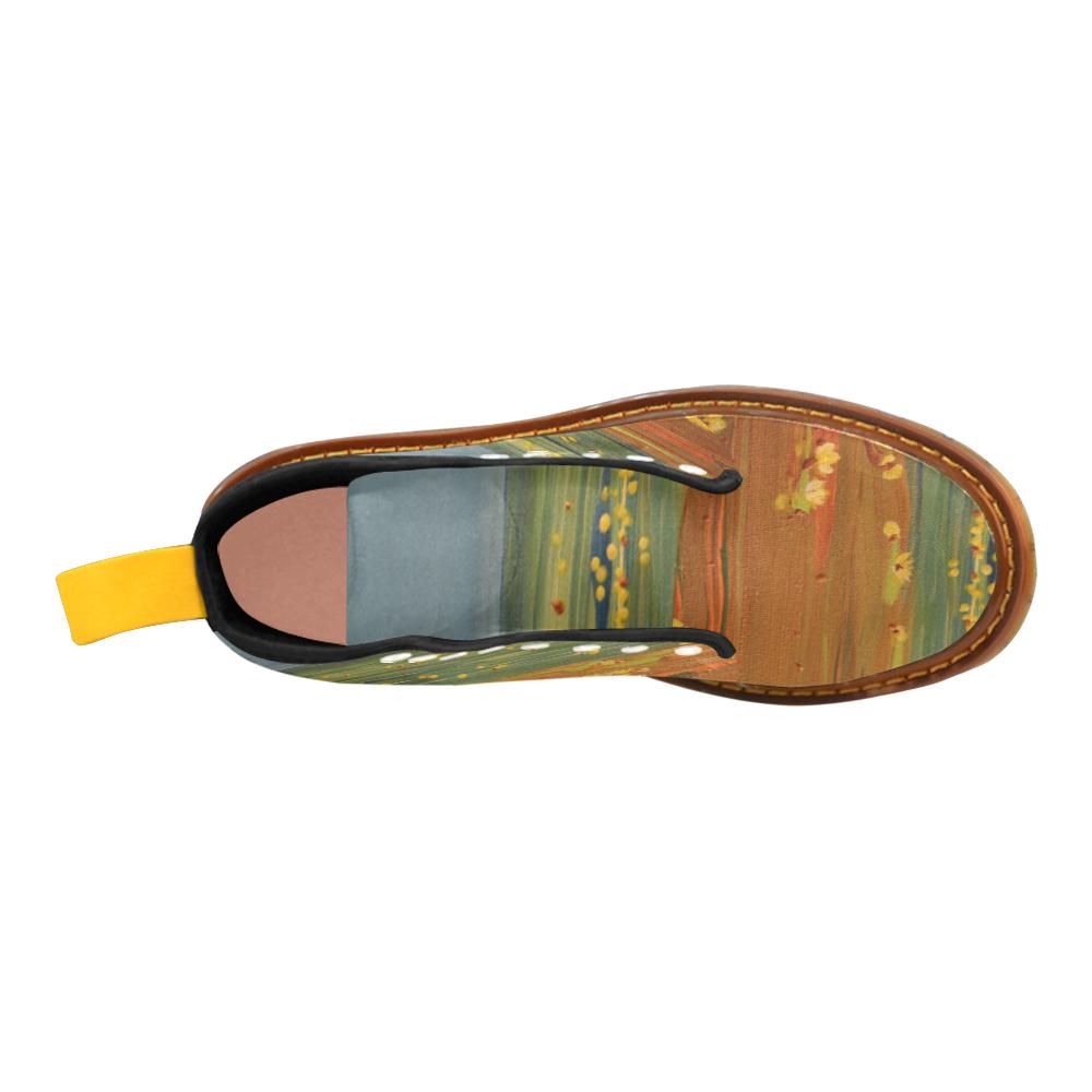 Golden Lotus Martin Boots For Women Model 1203H