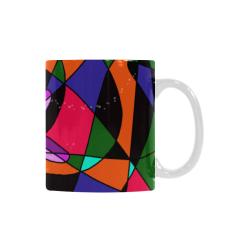 Abstract Design S 2020 Custom White Mug (11OZ)