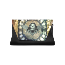 Awesome scary skull Clutch Bag (Model 1630)