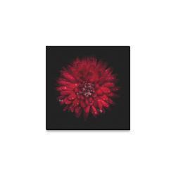"""Backyard Flowers 45 Color Version Canvas Print 6""""x6"""""""