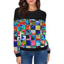 Greenhouse Women's Fringe Detail Sweatshirt (Model H28)
