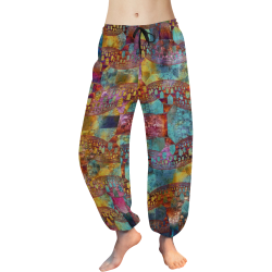Happy Mess Women's All Over Print Harem Pants (Model L18)