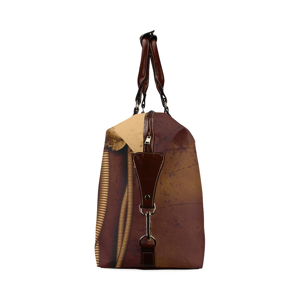 Mechanical skull Classic Travel Bag (Model 1643) Remake
