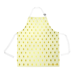 Fairlings Delight Royal Collection- Yellow Gold Diamonds 53086 All Over Print Apron All Over Print Apron