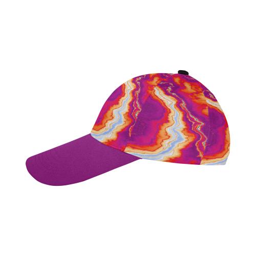 Neon Geode All Over Print Baseball Cap B