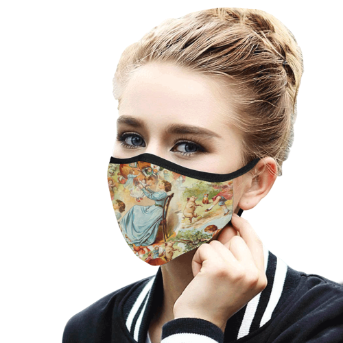 13st Mouth Mask in One Piece (2 Filters Included) (Model M02) (Non-medical Products)