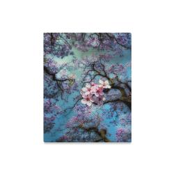 "Cherry blossomL Canvas Print 16""x20"""