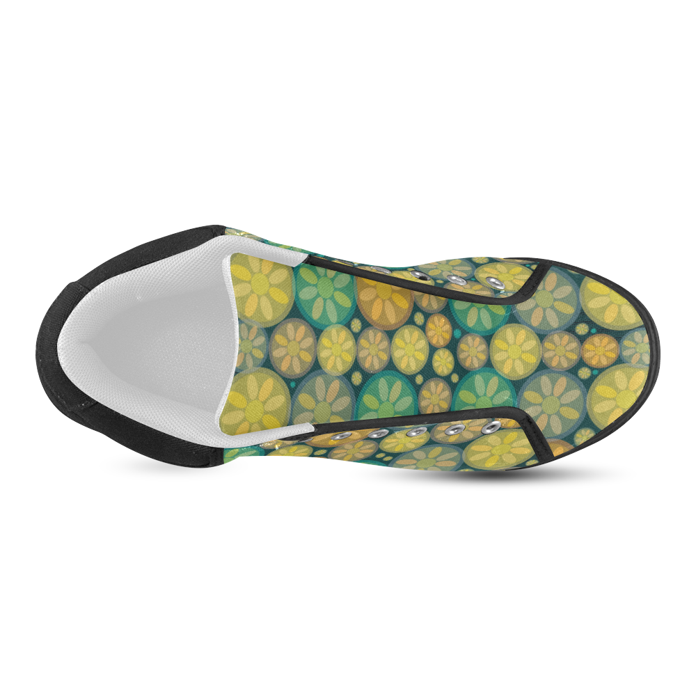 zappwaits delightful 4 Women's Chukka Canvas Shoes (Model 003)