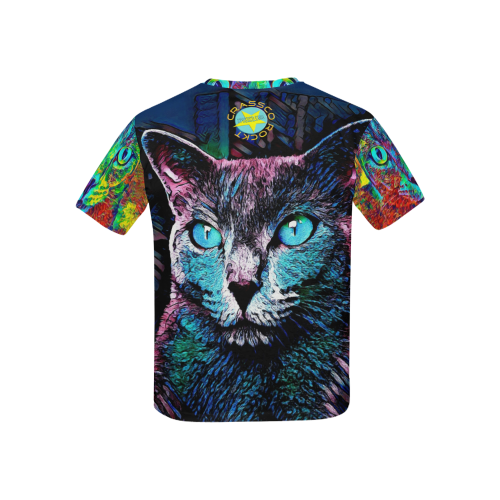 CATS SPECIAL MULTICOLOR Kids' All Over Print T-shirt (USA Size) (Model T40)