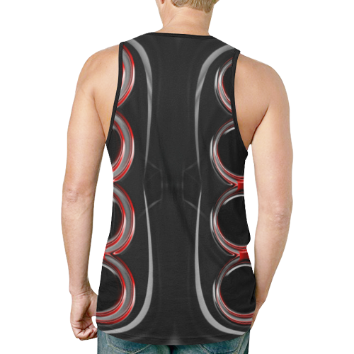abstract_5500_2019_RBW_75h New All Over Print Tank Top for Men (Model T46)