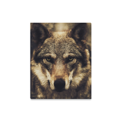 "Wolf 2 Animal Nature Canvas Print 16""x20"""