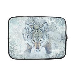 """Snow Wolf Custom Sleeve for Laptop 15.6"""""""