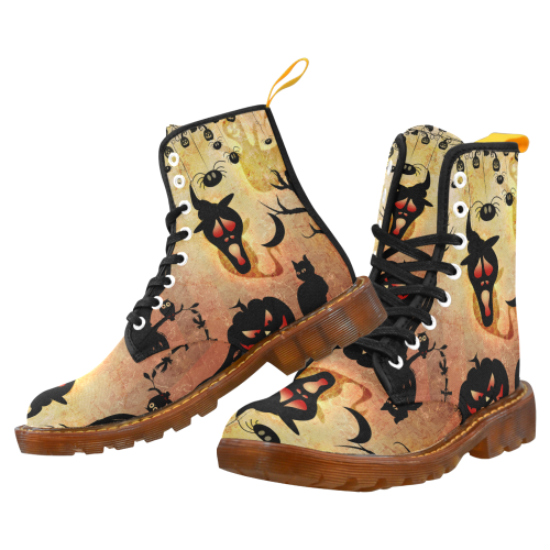 Funny halloween design Martin Boots For Women Model 1203H