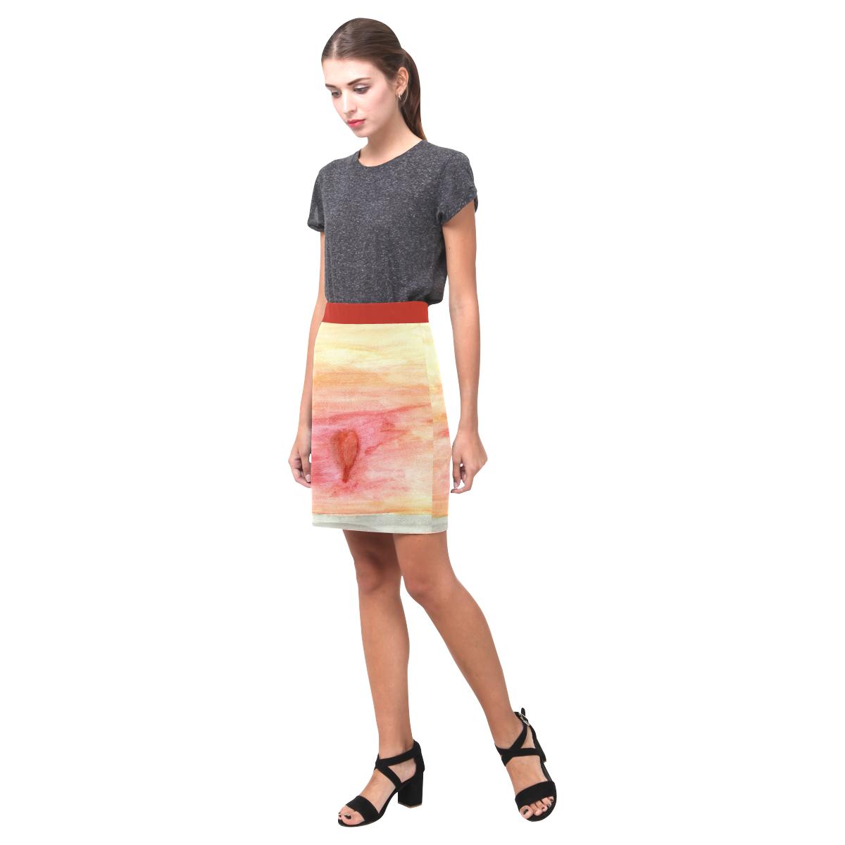 Radiating Heart Nemesis Skirt (Model D02)