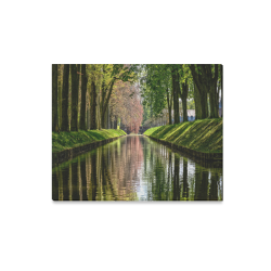 "Canal Dreams Canvas Print 20""x16"""