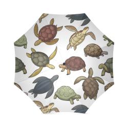 Turtles and Tortoises Foldable Umbrella (Model U01)