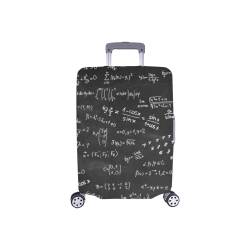 "Mathematics Formulas Equations Numbers Luggage Cover/Small 18""-21"""