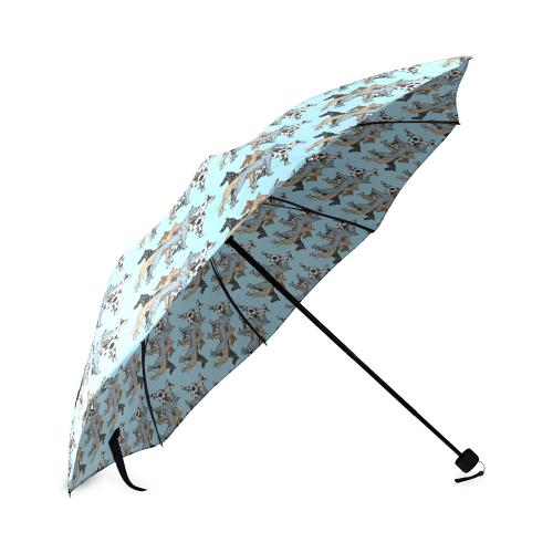 Great Dane Umbrella Foldable Umbrella (Model U01)