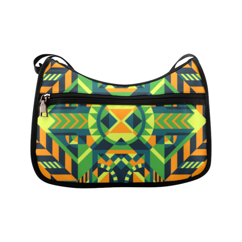 Modern Geometric Pattern Crossbody Bags (Model 1616)