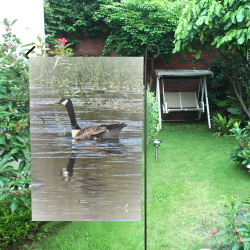 GOOSE Garden Flag 12''x18''(Without Flagpole)