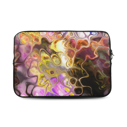 Colorful Marble Design Custom Sleeve for Laptop 17""