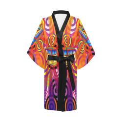 Hippie Travel Bus Kimono Robe