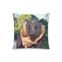 "Walter, the senior Grey-headed flying-fox Custom Zippered Pillow Case 20""x20""(One Side)"