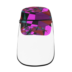 Abstract #13 2020 Military Style Cap (Detachable Face Shield)