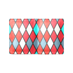 harlequin 2 Men's Leather Wallet (Model 1612)