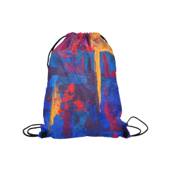 "oil_l Medium Drawstring Bag Model 1604 (Twin Sides) 13.8""(W) * 18.1""(H)"