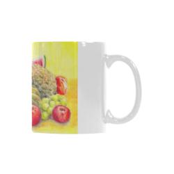 Happy Fruits Custom White Mug (11OZ)