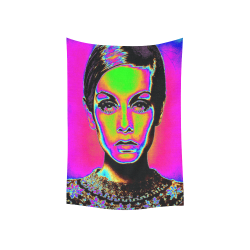 "Pop Art Fashion Cotton Linen Wall Tapestry 40""x 60"""