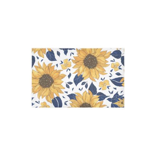 "Sunflowers Area Rug 2.7X1.8 Area Rug 2'7""x 1'8''"
