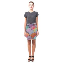 Rainbow cookies Nemesis Skirt (Model D02)