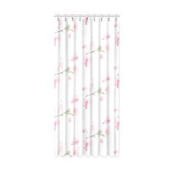 "Pattern Orchidées Window Curtain 50"" x 108""(One Piece)"