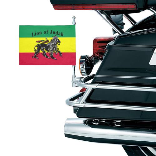 RASTA LION OF JUDAH Motorcycle Flag (Twin Sides)