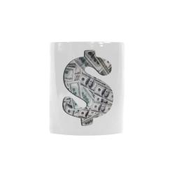 Hundred Dollar Bills - Money Sign Custom Morphing Mug