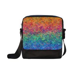 Fluid Colors G249 Crossbody Nylon Bags (Model 1633)
