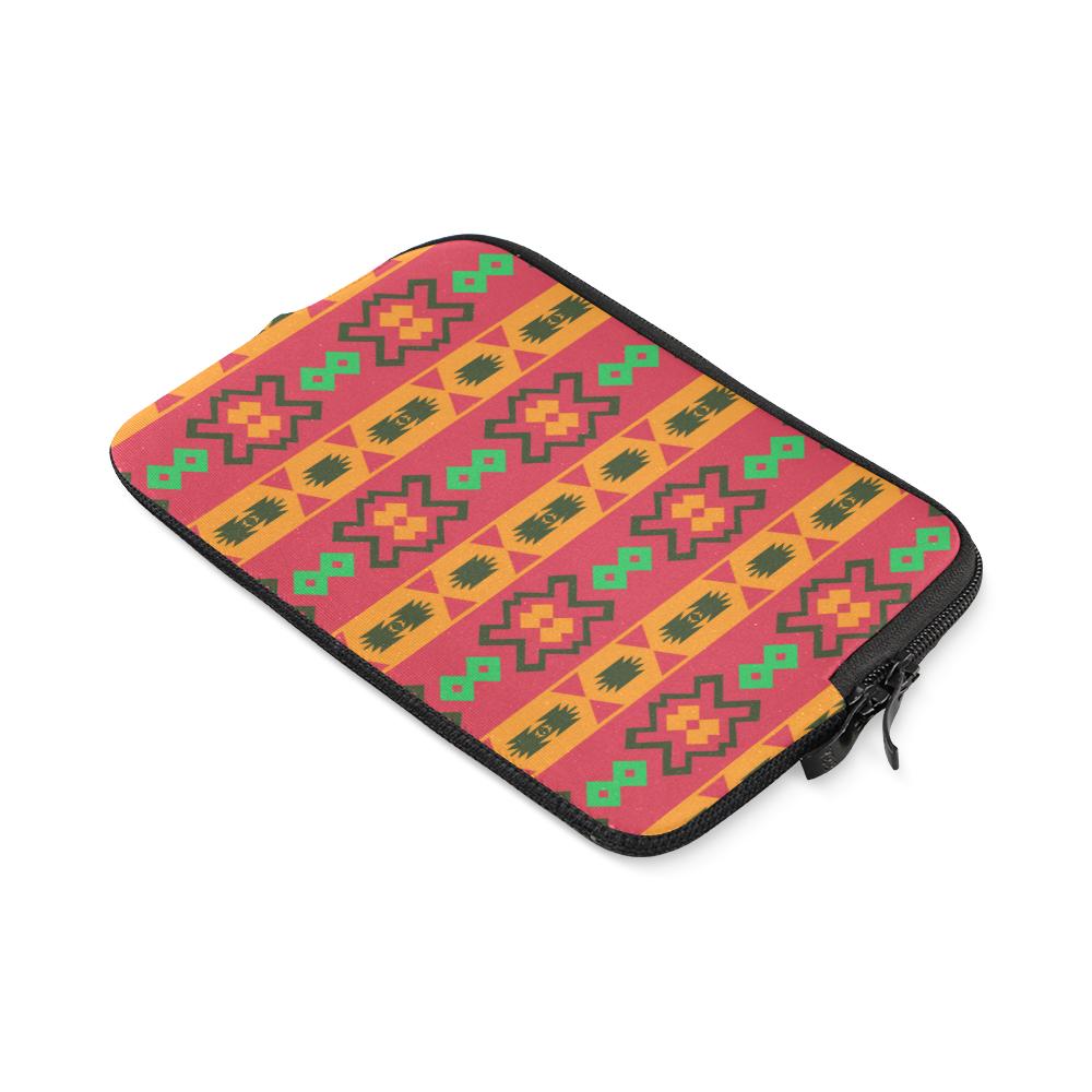 Tribal shapes in retro colors (2) iPad mini