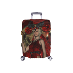"Wonderful dark fairy with candle light Luggage Cover/Small 18""-21"""