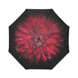 Backyard Flowers 45 Color Version Auto-Foldable Umbrella (Model U04)