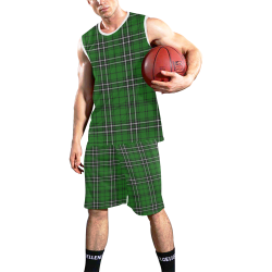 MacLean tartan All Over Print Basketball Uniform