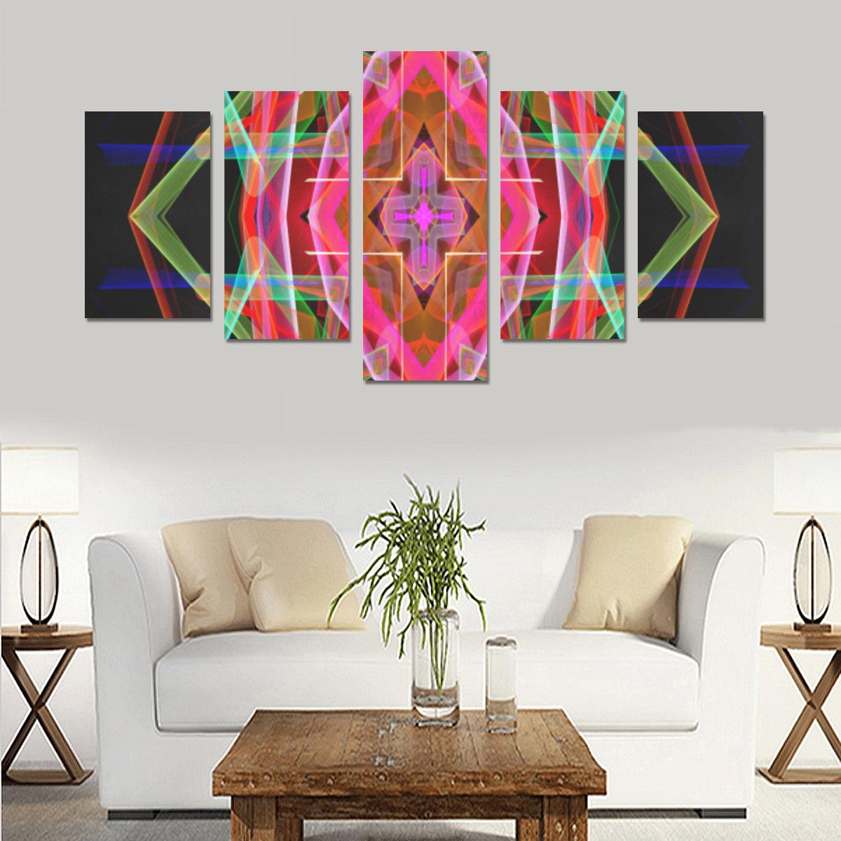 Mandala 3049A Canvas Print Sets C (No Frame)