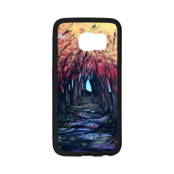 Autumn Day Rubber Case for Samsung Galaxy S6 Edge