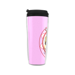 LasVegasIcons Poker Chip - Pink Reusable Coffee Cup (11.8oz)