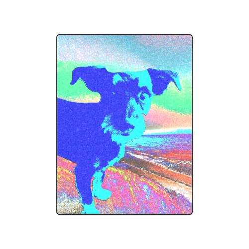 """Puppy Pop Blanket 50""""x60"""""""