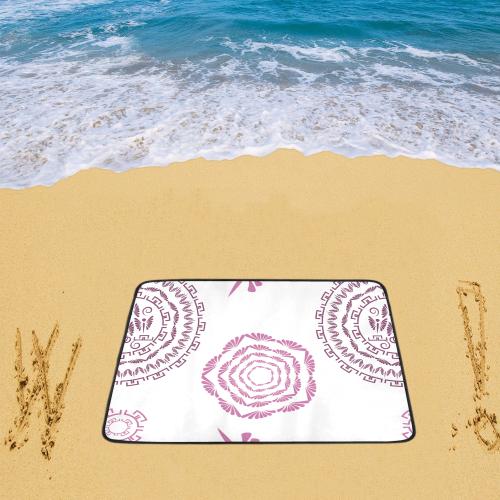 "geometric fantasy Beach Mat 78""x 60"""