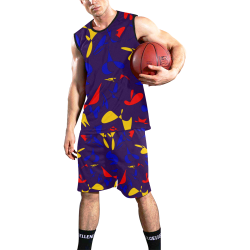 zappwaits f4 All Over Print Basketball Uniform