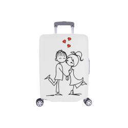 "Couple Luggage Cover/Small 18""-21"""
