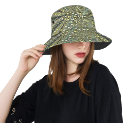 hearts everywhere E  by JamColors All Over Print Bucket Hat